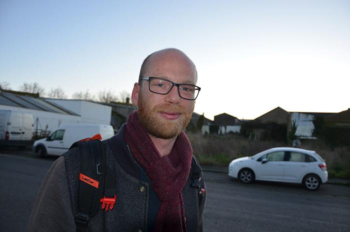 Damien Le Floc'h, patron du chalutier lorientais Oural