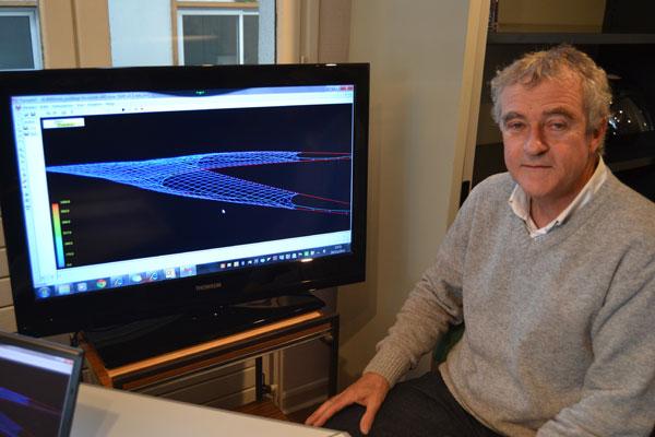 François Théret - conseiller en technologie des pêches à la scapêche - Photo : Jacques Le Meur