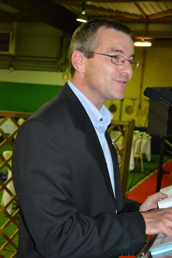 Olivier Le Nezet - président du comité local des pêches de Lorient - Photo : Jacques Le Meur
