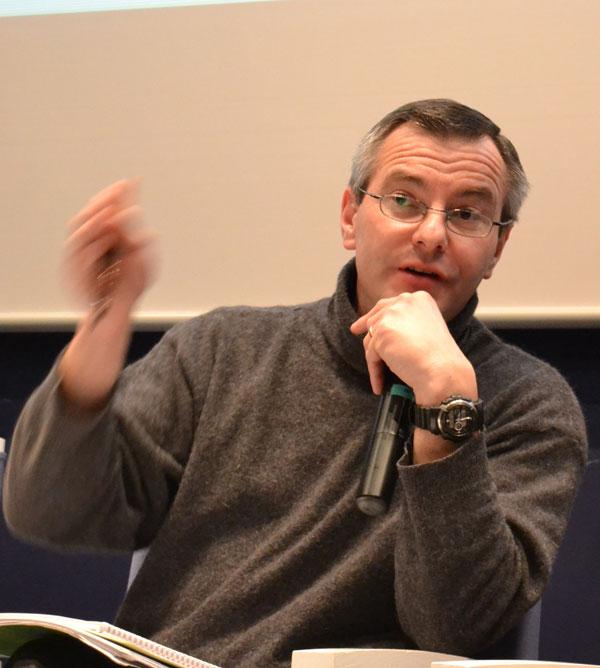 Olivier Le Nezet - président du comité régional des pêches de Bretagne - Photo : Jacques Le Meur