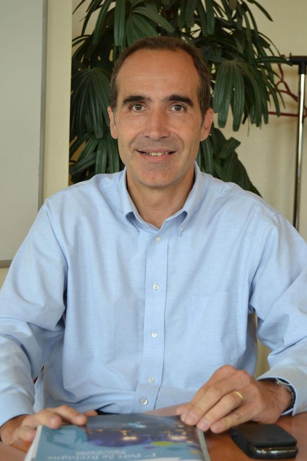 Nicolas Teisseire - directeur du développement de la filière Pêche à Audelor - Photo : Jacques Le Meur
