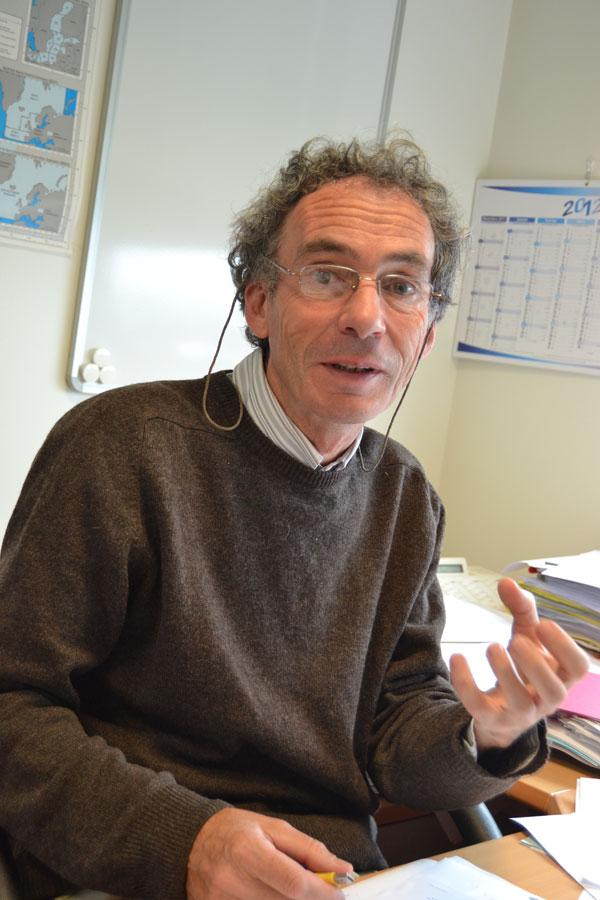 Alain Biseau - responsable des expertises halieutiques à l'Ifremer - Photo : Jacques Le Meur