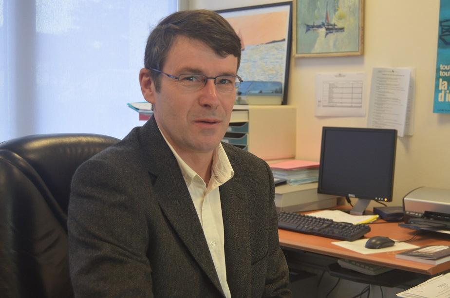 Luc Percelay, directeur du lycée professionnel maritime d'Etel