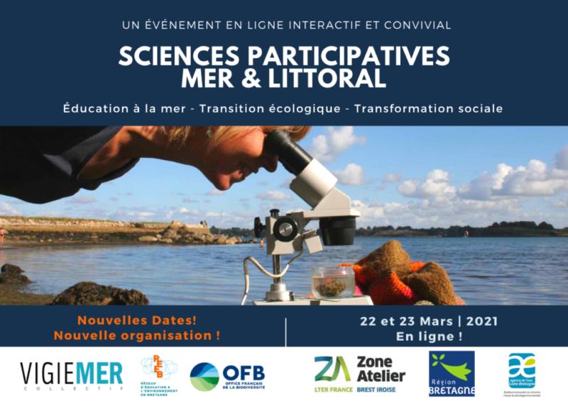 Journées d'échanges nationales sur les sciences participatives Mer & Littoral
