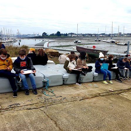 Repérage des lieux potentiels sur la commune pour une Aire Marine Educative