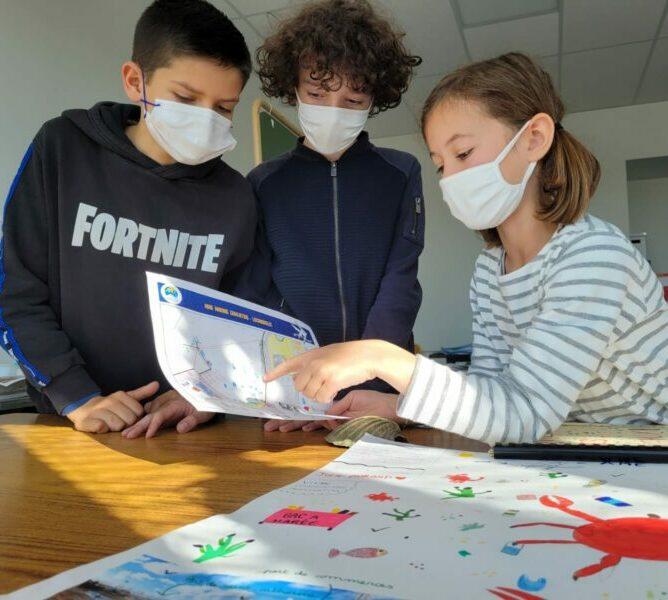 AIRE MARINE EDUCATIVE DE LOCMIQUELIC : ANIMATIONS AU MARCHE
